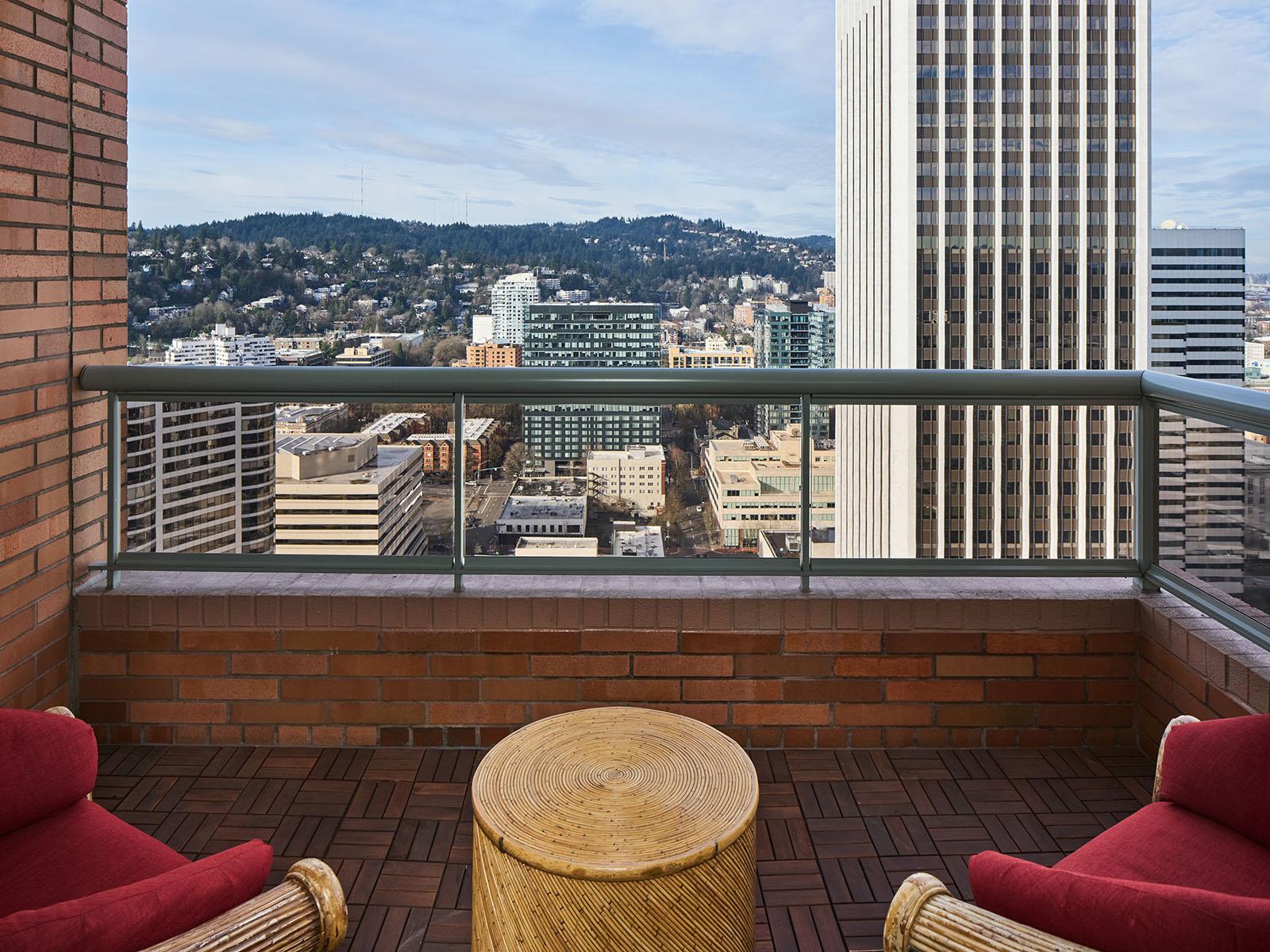 Balcony, bedroom suite 1